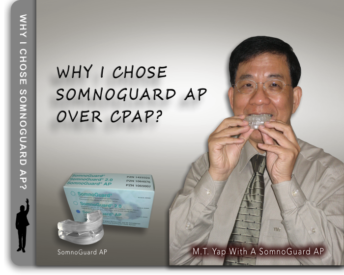 Why I chose SomnoGuard AP over CPAP